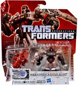 Transformers Generations Legends Action Figure 2-Pack Megatron & Chopshop