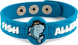 Fish Allergy Wristband