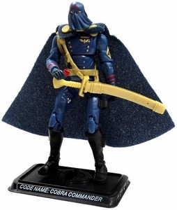 GI Joe 3 3/4 Inch LOOSE Action Figure Cobra Commander - Cobra Leader