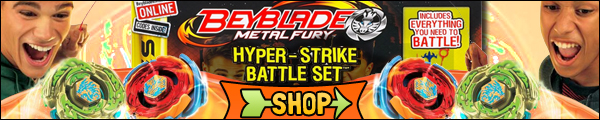 Beyblade Hyper-Strike Battle Set