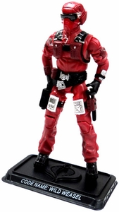 GI Joe 3 3/4 Inch LOOSE Action Figure Wild Wesel - Cobra Pilot