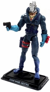 GI Joe 3 3/4 Inch LOOSE Action Figure Destro - Weapons Supplier