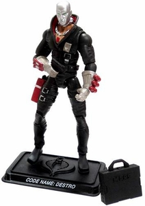 GI Joe 3 3/4 Inch LOOSE Action Figure Destro - Enemy Weapons Supplier