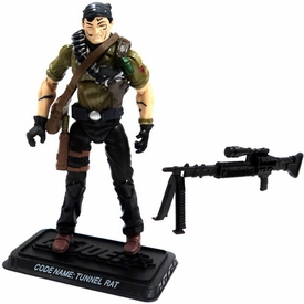 GI Joe 3 3/4 Inch LOOSE Action Figure Tunnel Rat - Explosives Expert
