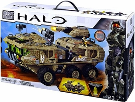 Halo Wars Mega Bloks Exclusive Set #97174 UNSC Mammoth