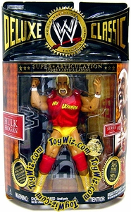 WWE Jakks Pacific Wrestling Deluxe Classic Superstars Series 1 Action Figure Hulk Hogan