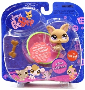 Littlest Pet Shop Portable Pet Chihuahua with Tea Cup