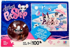 Littlest Pet Shop Puzzle Beach Side with Exclusive Dog Figure
