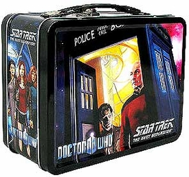 Bif Bang Pow! Doctor Who / Star Trek The Next Generation Exclusive Monitor Mates Tin Tote Set