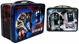 Bif Bang Pow! Doctor Who 50th Anniversary Exclusive Tin Tote Gift Set with Figures [First & Eleventh Doctors]