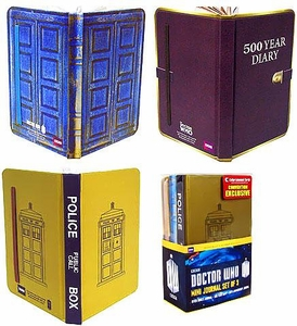 Doctor Who Bif Bang Pow! Exclusive Mini Journal Set [3 Journals]