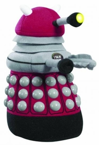Doctor Who Medium Talking Plush Burgundy Dalek  Pre-Order ships April