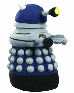 Doctor Who Medium Talking Plush Dark Blue Dalek Pre-Order ships March