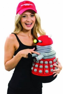 Doctor Who 15 Inch Deluxe Plush Red Dalek  Pre-Order ships April