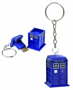 Doctor Who Tardis 8 Gigabyte USB Memory Stick Pre-Order ships April