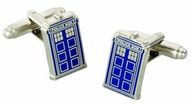 Doctor Who Tardis Cufflinks Pre-Order ships April