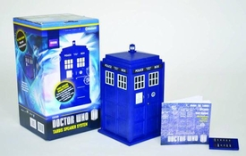 Doctor Who Wireless Speaker System Tardis Pre-Order ships April