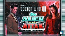 Doctor Who Alien Attax Trading Card Game Booster BOX [24 Packs]