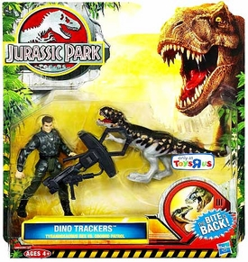Jurassic Park Dino Trackers Set Tyrannosaurus Rex vs. Ground Patrol