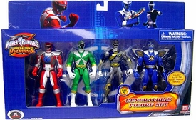 Power Rangers Operation Overdrive Exclusive Generations Figure 4-Pack Set 4 with Silver Ranger