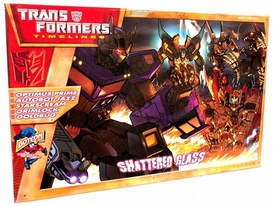 Transformers Timelines Hasbro Club Exclusive Boxed Set Shattered Glass