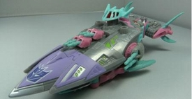 Transformers Botcon 2010 Exclusive Action Figure Sharkticon Air Shark