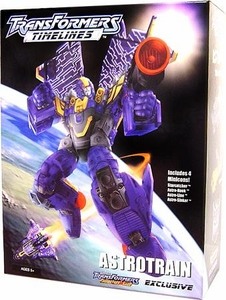 Transformers Timelines Hasbro Club Exclusive Boxed Astrotrain