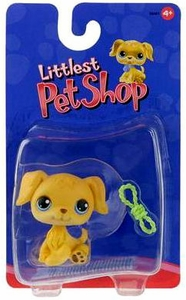 Littlest Pet Shop Single Pack Figure Golden Retriever