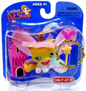 Littlest Pet Shop Exclusive Single Figure Faerie Kitten