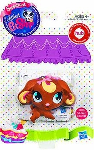Littlest Pet Shop Sweetest Pet Single Figure #3116 Cocker Spaniel