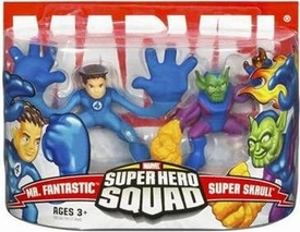 Marvel Superhero Squad Series 3 Mini 3 Inch Figure 2-Pack Mr. Fantastic & Super Skrull