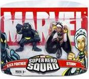 Marvel Superhero Squad Series 5 Mini 3 Inch Figure 2-Pack Storm & Black Panther