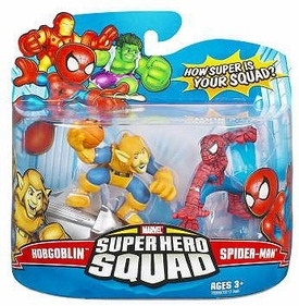 Marvel Superhero Squad Series 8 Mini 3 Inch Figure 2-Pack Spider-Man & HobGoblin