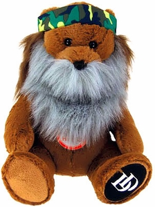 Duck Dynasty 8 Inch Plush Bear with Beard & Sound Phil