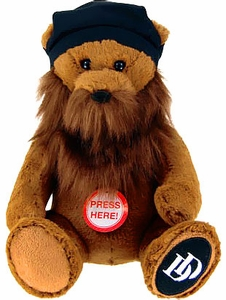 Duck Dynasty 8 Inch Plush Bear with Beard & Sound Jase