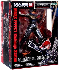 Mass Effect Kotobukiya Bishoujo Exclusive 1/7 Scale Statue Commander Shepard {BLack Hair} [Female Version]