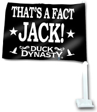 Duck Dynasty Car Flag