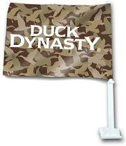 Duck Dynasty Car Flag Camouflage