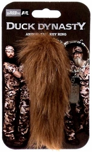 Duck Dynasty Animal Tail Keychain Squirrel