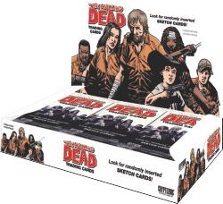 The Walking Dead Cryptozoic COMIC Series 1 Trading Cards Box [24 Packs]
