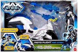 Max Steel Vehicle & Figure Moto Flight Max Steel [One-Touch Transformation!]