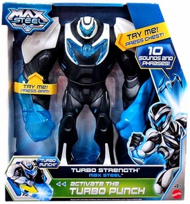 Max Steel Figure with Sound Turbo Strength Max Steel