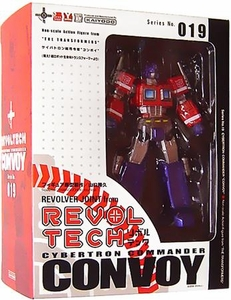 Transformers Revoltech #019 Super Poseable Action Figure Optimus Prime Very Rare!