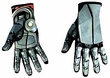 Disguise Costume Transformers: Revenge of the Fallen #19235 Optimus Prime Deluxe Gloves [Child]