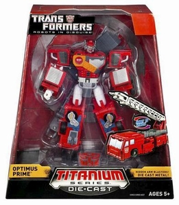 Transformers Hasbro Titanium Cybertron Heroes 6 Inch Diecast Figure Optimus Prime [Robots in Disguise]