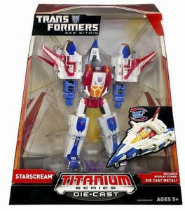 Transformers Hasbro Titanium Cybertron Heroes 6 Inch Diecast Figure Starscream [War Within]