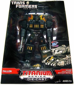 Transformers Hasbro Titanium Cybertron Heroes 6 Inch Diecast Figure The Fallen [War Within]