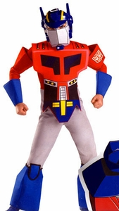 Disguise Costume Transformers Animated #7182 Optimus Prime [Child]