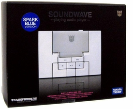 Transformers Takara Music Label MP3 Player Soundwave [Blue]