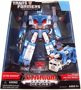 Transformers Hasbro Titanium Cybertron Heroes 6 Inch Diecast Figure Ultra Magnus [Generation 1]